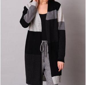100% cashmere cardigan size L bnwt